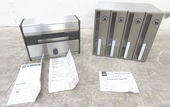ボンメールレインボー ポスト 集合郵便受箱2型番セット