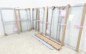 インプラス4セット サッシ付防音断熱内窓の写真