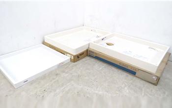 洗濯機パン 防水フロアー3点セットの写真