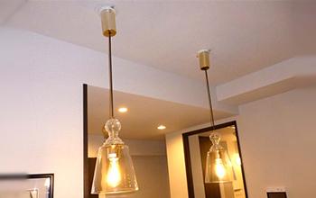 フィラメント形 LED電球 ペンダントライト 2連セット