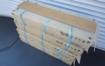 フレーバーオークオークライト 複合フローリング 96枚セットの写真