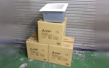 ダクト用換気扇3点セット VD-20ZLXP