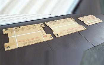 ハイドロセラ・フロアPU 小便器床防汚陶板3点セット