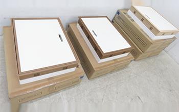高気密型床下点検口4点セット SPF-R45C-BLA1