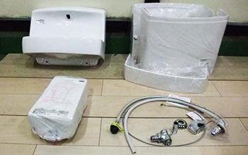 湯ぽっとRE01シリーズ 小型電気温水器