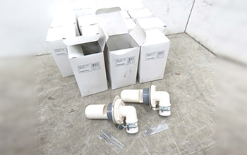 洗濯機用排水トラップ 426-001-50 11点セットの写真