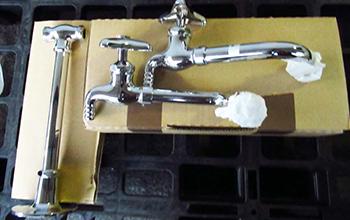 台付化学水栓(2口) T42B