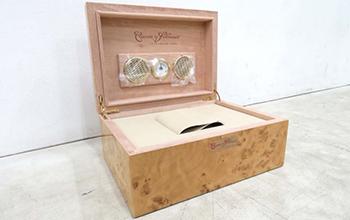 バーズアイメープルを使用した腕時計収納ボックス