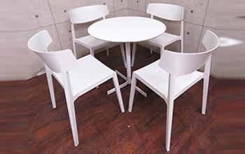 XTテーブル WG Chair カフェダイニング5点セット