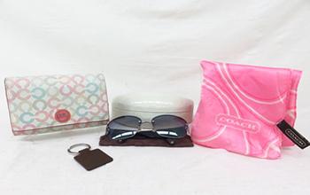 財布 キーリング スカーフ サングラス 小物4点セット