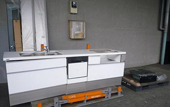 ラクシーナ 対面型システムキッチンの写真