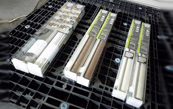 ラビータシリーズ センシアシリーズ ロールスクリーン6個セットの写真