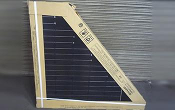 単結晶太陽電池モジュール2枚セット NU-081RB