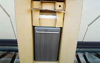 コンパクトライン L353タイプ 収納キャビネット 手洗い器セット